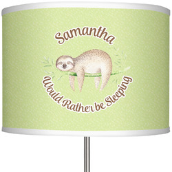 "Sloth 13"" Drum Lamp Shade (Personalized)"
