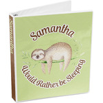 Sloth 3-Ring Binder (Personalized)