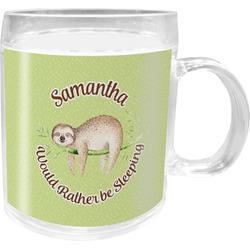 Sloth Acrylic Kids Mug (Personalized)