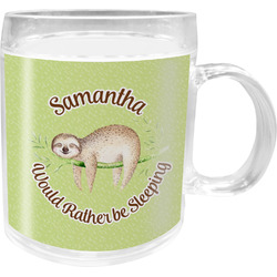Sloth Acrylic Kids Mug (Personalized)