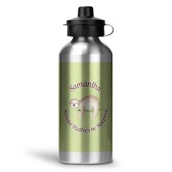 Sloth Water Bottle - Aluminum - 20 oz (Personalized)