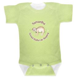 Sloth Baby Bodysuit (Personalized)