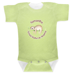 Sloth Baby Bodysuit (Personalized)