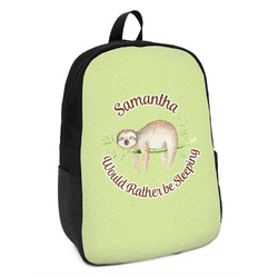 Sloth Kids Backpack (Personalized)