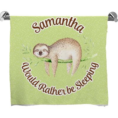 Sloth Bath Towel (Personalized)
