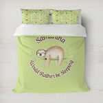 Sloth Duvet Cover (Personalized)