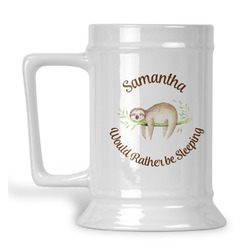 Sloth Beer Stein (Personalized)