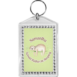 Sloth Bling Keychain (Personalized)