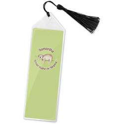 Sloth Book Mark w/Tassel (Personalized)