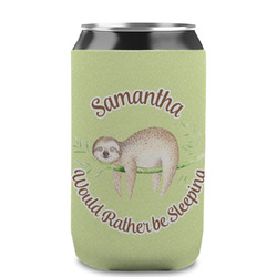 Sloth Can Sleeve (12 oz) (Personalized)