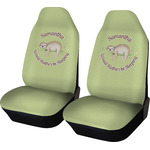 Sloth Car Seat Covers (Set of Two) (Personalized)