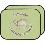 Sloth Car Floor Mats (Back Seat) (Personalized)