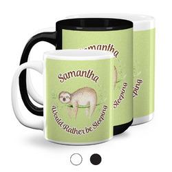 Sloth Coffee Mugs (Personalized)