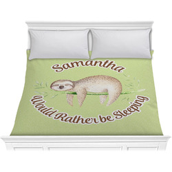 Sloth Comforter - King (Personalized)