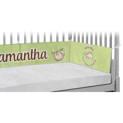 Sloth Crib Bumper Pads (Personalized)