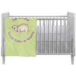 Sloth Crib Comforter / Quilt (Personalized)