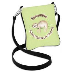 Sloth Cross Body Bag - 2 Sizes (Personalized)