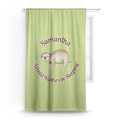 """Sloth Curtain - 50""""x84"""" Panel (Personalized)"""