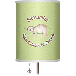 "Sloth 7"" Drum Lamp Shade (Personalized)"
