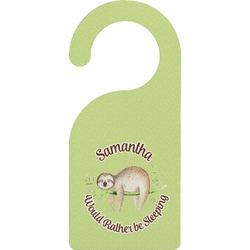 Sloth Door Hanger (Personalized)