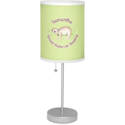 "Sloth 7"" Drum Lamp with Shade (Personalized)"