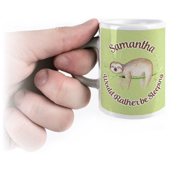 Sloth Espresso Mug - 3 oz (Personalized)
