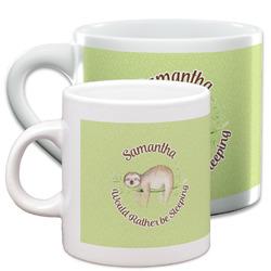 Sloth Espresso Cups (Personalized)