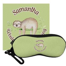 Sloth Eyeglass Case & Cloth (Personalized)