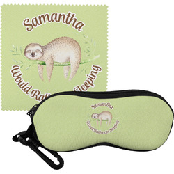 Sloth Eyeglass Case & Cloth (Personalized)