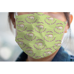 Sloth Face Mask Cover (Personalized)