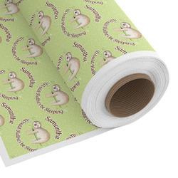 Sloth Custom Fabric - Spun Polyester Poplin (Personalized)