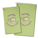 Sloth Golf Towel - Full Print w/ Name or Text