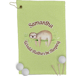 Sloth Golf Towel - Full Print (Personalized)