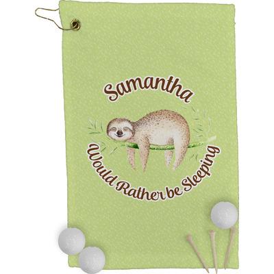 Sloth Golf Towel - Full Print (Personalized)