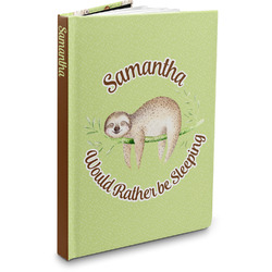 Sloth Hardbound Journal (Personalized)