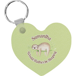 Sloth Heart Keychain (Personalized)
