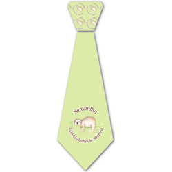 Sloth Iron On Tie (Personalized)