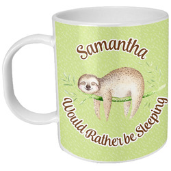 Sloth Plastic Kids Mug (Personalized)