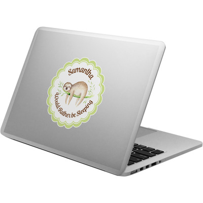 Sloth Laptop Decal (Personalized)