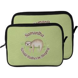 Sloth Laptop Sleeve / Case (Personalized)
