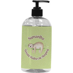 Sloth Plastic Soap / Lotion Dispenser (Personalized)