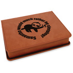 Sloth Leatherette 4-Piece Wine Tool Set (Personalized)