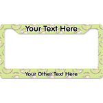 Sloth License Plate Frame - Style B (Personalized)