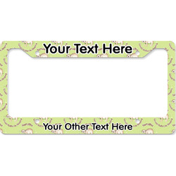 Sloth License Plate Frame (Personalized)