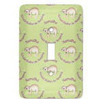 Sloth Light Switch Covers (Personalized)