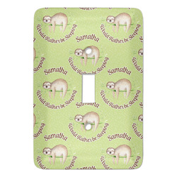 Sloth Light Switch Covers - Multiple Toggle Options Available (Personalized)