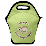 Sloth Lunch Bag w/ Name or Text