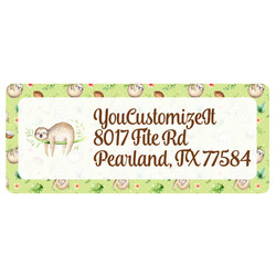 Sloth Return Address Labels (Personalized)