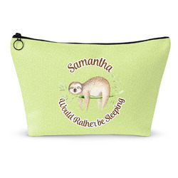 """Sloth Makeup Bag - Large - 12.5""""x7"""" (Personalized)"""