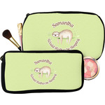 Sloth Makeup / Cosmetic Bag (Personalized)